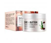 Скраб для тела BioAqua Shea Butter Moisturize Body Scrub с маслом Ши 120 г