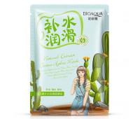 Увлажняющая маска Natural Extract с экстрактом кактуса BioAqua 30 г