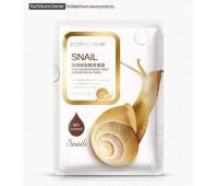 Маска тканевая SNAIL shiny moisturizing tenderness facial mask Rorec 30 мл