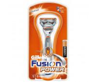 Станок для бритья Gillette Fusion Power (с батарейкой)