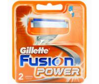 Сменные кассеты Gillette Fusion Power (2 шт)