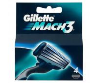 Сменные кассеты Gillette Mach3 (4 шт)