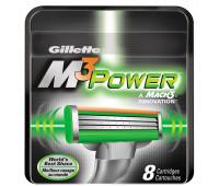 Сменные кассеты Gillette M3 Power (8 шт)
