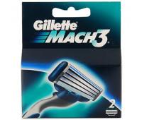 Сменные кассеты Gillette Mach3 (2 шт)