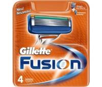 Сменные кассеты Gillette Fusion (4 шт)
