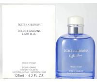 Light Blue pour Homme Beauty of Capri Dolce&Gabbana 125 мл Тестер