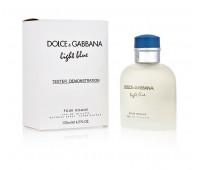 Light Blue pour Homme Dolce&Gabbana 125 мл Тестер