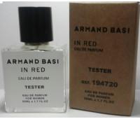 Мини тестер Armand Basi In Red eau de parfum 50 ml (ОАЭ)
