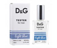 Тестер Light Blue pour Homme Dolce&Gabbana 60 мл